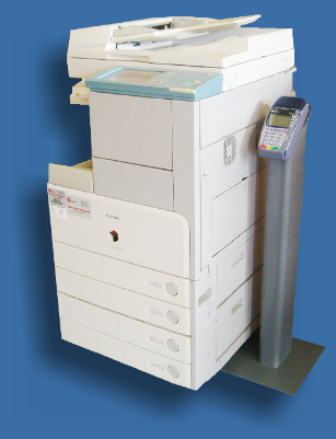 coin operated copy machine